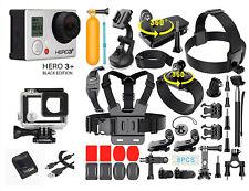 GoPro HERO3+ Black Edition Camera + 40PCS Accessory + Waterproof Case