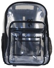 NWT Amaro 16-inch Crystal Clear, Premium Quality, See Through Backpack