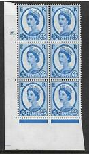 4d Wilding Violet Phosphor 9.5mm cyl 26 Dot perf type A(E/I) UNMOUNTED MINT