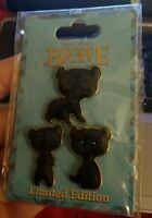DSF - Brave - Triplet Bear Cubs (Happy, Hungry, and Curious) LE 300 Pin Set