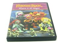 JIM HENSONS FRAGGLE ROCK DVD WHERE IT ALL BEGAN (GENTLY PREOWNED)