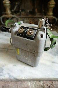 "Vintage ""VOPIL"" LOSSNITZ IMERZGEB Dynamite TNT Blasting Machine  Detonator Box"