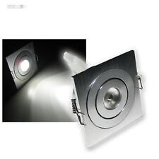 3x downlight LED BLANCO HIGPOWER 3W CREE LEDs 12V DC Foco empotrado Focos