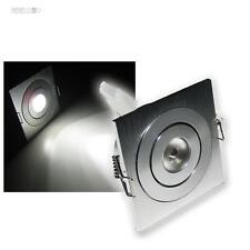 3x LED-Einbauleuchte WEISS HIGPOWER 3W CREE LEDs 12V DC Einbaustrahler Spots