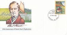 (13849) Australia Postal Stationery FDC Charles Sturt 12 November 1980