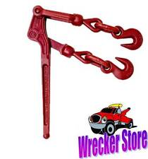 "6600 WWL! Load Binder Pull Lever 3/8"" inch Chain Hook Tie Down Rigging Equipment"