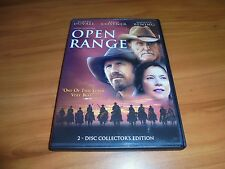 Open Range (DVD, 2004, Widescreen 2-Disc) Robert Duvall, Kevin Costner Used