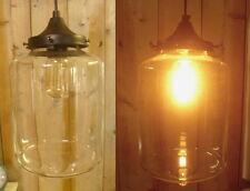 Lampe plafond à SUSPENSION PISTON Steampunk LUMINAIRE STYLE RUSTIQUE ANCIEN NEUF
