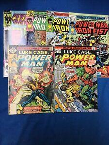 Marvel: POWERMAN/ IRONFIST Comic  Lot (6) Mid Grade