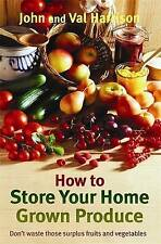 How to Store Your Home Grown Produce-ExLibrary