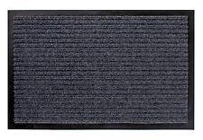 Schmutzfangmatte grau - 80x180 cm - Fußmatte Fußabtreter Türmatte Fußabstreifer
