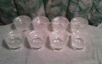Cut Glass/Crystal 6 Oz. Ice Cream Sundae Cups   (Set of 8)