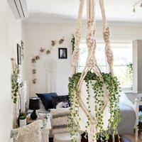 Macrame Plant Hanger - Large - Natural - Handmade