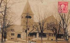 CPA ETATS UNIS D´AMERIQUE CARTE PHOTO LAKE FOREST PRESBYTERIAN CHURCH