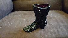 Mosser Glass Co Amethyst High Heel Boot