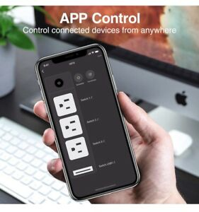 Small Power strip Surge Protector
