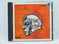 BREL Ces gens là album CD Chanson variété Française