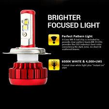 1X 4000LM 40W Motorcycle Bike CREE LED Headlight H4 9003 HB2 Hi & Lo 6000K Bulb