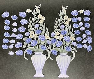 Carnation Crafts Vibrance Die Cuts Vernal  Blooms Collection (blue Colour Way)