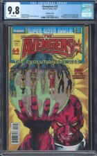 CHAMPIONS #13 CGC 9.8 NM/MT WP LENTICULAR COVER ~ AVENGERS ANNUAL HOMAGE