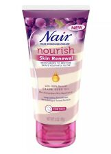 Nair Nourish Skin Renewal Hair Remover Cream for Face - 3 oz