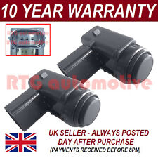 2X FOR AUDI Q7 SKODA OCTAVIA BLACK PDC PARKING DISTANCE REVERSE SENSOR 2PS1701S