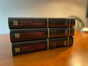 cxExegetical Dictionary of the New Testament, Full Set, Very Good Condition