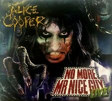 ALICE COOPER - NO MORE MR NICE GUY LIVE (2 CD's + 1 CD ROM TRIFOLD DIGIPACK COVE