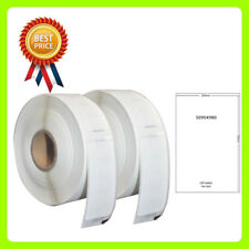 2 Roll S0904980 Labels Compatible for Dymo/Seiko 104 x 159mm 220 labels per roll