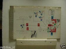 SIMCA ARONDE. MOBIL OIL LUBRICATION CHART 1963
