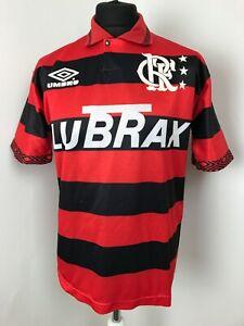 Flamengo Maillot Football Domicile 93/94 Centenaire Chemise Umbro Adulte Grand