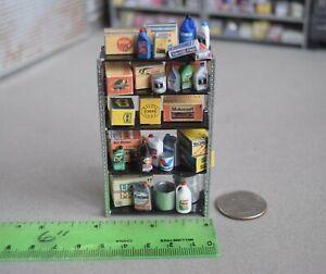 1/24 Automotive Shop Shelf w/ Auto Products from Austin's Garage