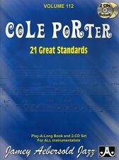 Jamey Aebersold - Cole Porter: 21 Great Standards [New CD] With Book