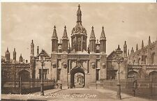 Cambridgeshire Postcard - King's College - Great Gate   A2471