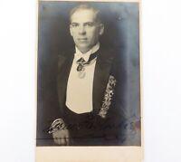 .SCARCE c1920 HERMAN JADLOWKER LATVIAN TENOR HANDSIGNED REAL PHOTO POSTCARD