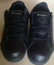 Shoes boys size 1.5 wide EUR 33 new man made materials Champion black