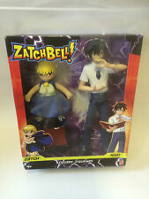Mattel ZatchBell Twin Figure Pack Zatch and Kiyo Figures - Brand New
