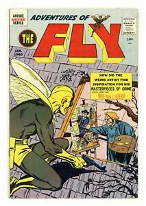 Adventures of the Fly #4 VG+ 4.5 1960