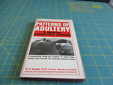 """Patterns Of Adultery """" A Marriage Counsellor's Casebook"""" by W.D. Sprague  (1964)"""