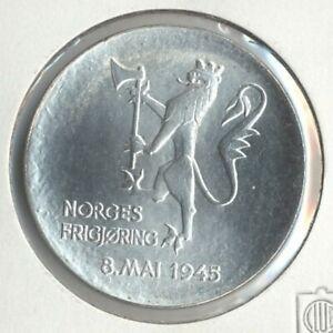 """Norwegen 200 Kroner Silbermünze """"Reichslöwe"""" 1980, ZP1023 B.76 stgl"""