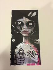 Miss Bugs Lost Her On The Tube Stamped/Numbered Art Print Poster.