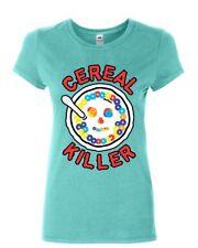 Cereal Killer Women's T-Shirt Funny Breakfast Morning Meal Serial Killer Shirt