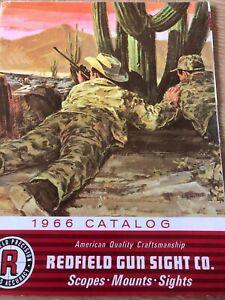Redfield Gun Sight Co Catalog 1966