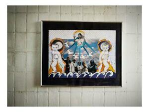 hand made collage art work samantha smith modern Art ORIGINAL