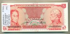 VENEZUELA BUNDLE 100 NOTES 5 BOLIVARES 21.09.1989 P 70b UNC