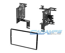 NISSAN DOUBLE 2 DIN CAR STEREO CD DVD PLAYER INSTALLATION DASH TRIM MOUNTING KIT