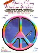 """Peace Sky"" Static Cling Window Sticker"