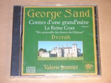 CD RARE / GEORGE SAND / CONTE D'UNE GRAND MERE / VALERIE JEANNET / NEUF CELLO