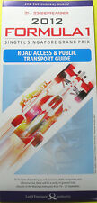 F1 Singapore Road Access & Public Transport Guide 2012