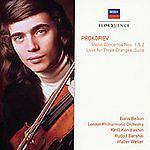 "Boris Belkin ""Prokofiev: Violin Concertos # 1 & 2 Love for 3 Oranges""(133)NEW CD"